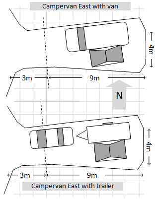 Plan Campervan East 1