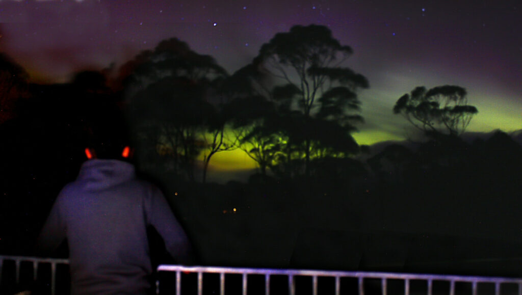 Southern Aurora at Huon Bush Retreats